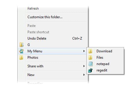 جديد لتخصيص قائمة زر الماوس الايمن لاضافة ماتريد او ازالته Right-click-enhancer